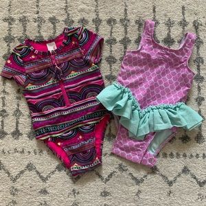 Baby Girl's Swimsuit Bundle — 18 months